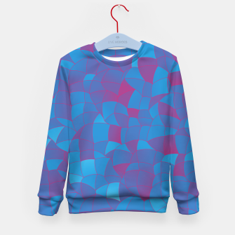 Thumbnail image of Geometric Shapes Fragments Pattern 2 pb Kid's sweater, Live Heroes