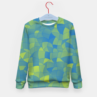 Thumbnail image of Geometric Shapes Fragments Pattern 2 by Kid's sweater, Live Heroes