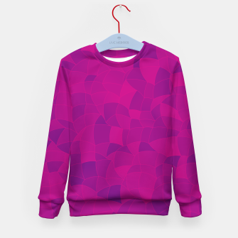 Thumbnail image of Geometric Shapes Fragments Pattern 2 mag3 Kid's sweater, Live Heroes