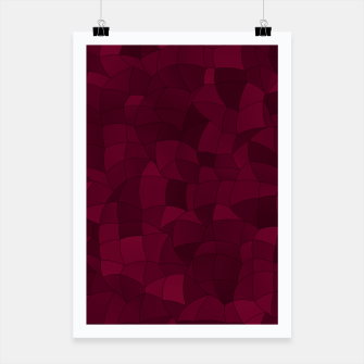 Thumbnail image of Geometric Shapes Fragments Pattern 2 wr Poster, Live Heroes