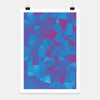 Thumbnail image of Geometric Shapes Fragments Pattern 2 pb Poster, Live Heroes