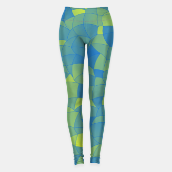 Miniatur Geometric Shapes Fragments Pattern 2 by Leggings, Live Heroes