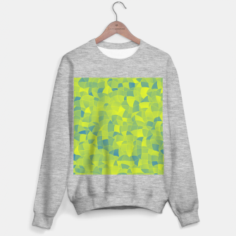 Thumbnail image of Geometric Shapes Fragments Pattern 2 byi Sweater regular, Live Heroes