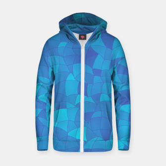 Thumbnail image of Geometric Shapes Fragments Pattern 2 pb2 Zip up hoodie, Live Heroes