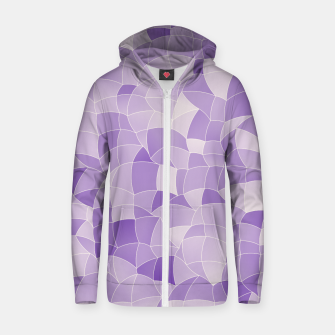 Thumbnail image of Geometric Shapes Fragments Pattern 2 pu2i Zip up hoodie, Live Heroes
