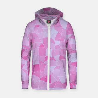 Thumbnail image of Geometric Shapes Fragments Pattern 2 ip Zip up hoodie, Live Heroes