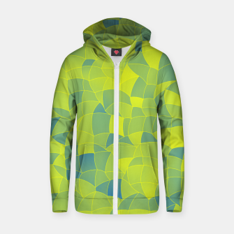 Thumbnail image of Geometric Shapes Fragments Pattern 2 byi Zip up hoodie, Live Heroes