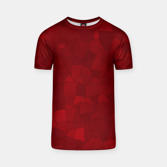 Thumbnail image of Geometric Shapes Fragments Pattern 2 dr T-shirt, Live Heroes