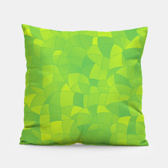 Thumbnail image of Geometric Shapes Fragments Pattern 2 yg Pillow, Live Heroes