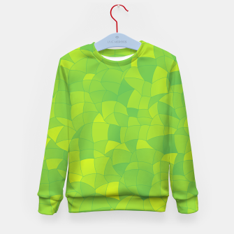 Thumbnail image of Geometric Shapes Fragments Pattern 2 yg Kid's sweater, Live Heroes