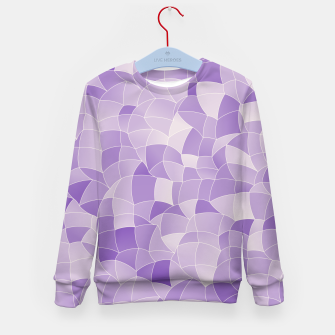 Thumbnail image of Geometric Shapes Fragments Pattern 2 pu2i Kid's sweater, Live Heroes