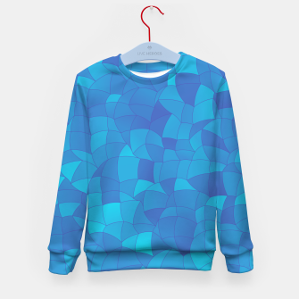 Thumbnail image of Geometric Shapes Fragments Pattern 2 pb2 Kid's sweater, Live Heroes