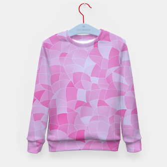 Thumbnail image of Geometric Shapes Fragments Pattern 2 ip Kid's sweater, Live Heroes