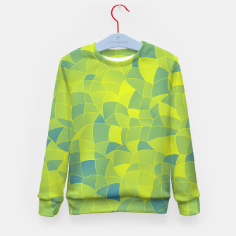 Thumbnail image of Geometric Shapes Fragments Pattern 2 byi Kid's sweater, Live Heroes