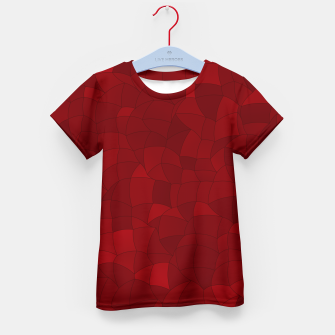 Thumbnail image of Geometric Shapes Fragments Pattern 2 dr Kid's t-shirt, Live Heroes