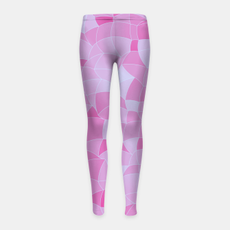 Imagen en miniatura de Geometric Shapes Fragments Pattern 2 ip Girl's leggings, Live Heroes
