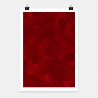 Miniatur Geometric Shapes Fragments Pattern 2 dr Poster, Live Heroes