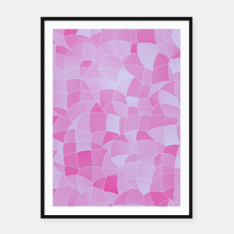 Imagen en miniatura de Geometric Shapes Fragments Pattern 2 ip Framed poster, Live Heroes