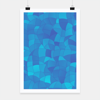 Miniatur Geometric Shapes Fragments Pattern 2 pb2 Poster, Live Heroes
