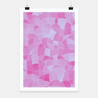 Miniatur Geometric Shapes Fragments Pattern 2 ip Poster, Live Heroes