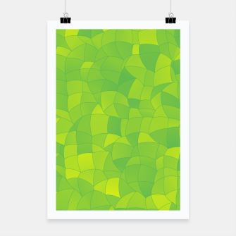 Miniatur Geometric Shapes Fragments Pattern 2 yg Poster, Live Heroes