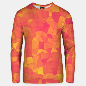 Miniatur Geometric Shapes Fragments Pattern 2 pyp Unisex sweater, Live Heroes