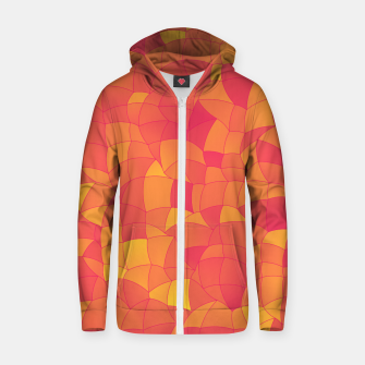 Thumbnail image of Geometric Shapes Fragments Pattern 2 pyp Zip up hoodie, Live Heroes