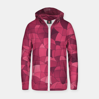 Thumbnail image of Geometric Shapes Fragments Pattern 2 ip2i Zip up hoodie, Live Heroes