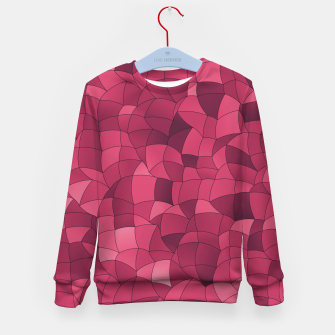 Thumbnail image of Geometric Shapes Fragments Pattern 2 ip2i Kid's sweater, Live Heroes