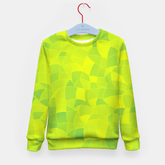 Thumbnail image of Geometric Shapes Fragments Pattern 2 ygi Kid's sweater, Live Heroes