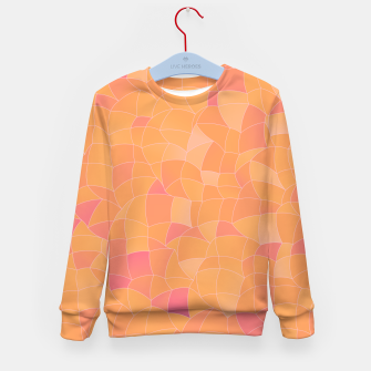 Thumbnail image of Geometric Shapes Fragments Pattern 2 cr2 Kid's sweater, Live Heroes