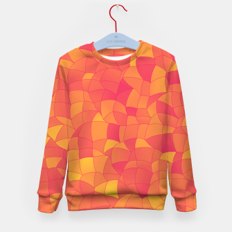 Thumbnail image of Geometric Shapes Fragments Pattern 2 pyp Kid's sweater, Live Heroes