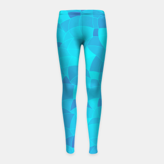 Imagen en miniatura de Geometric Shapes Fragments Pattern 2 pb2i Girl's leggings, Live Heroes
