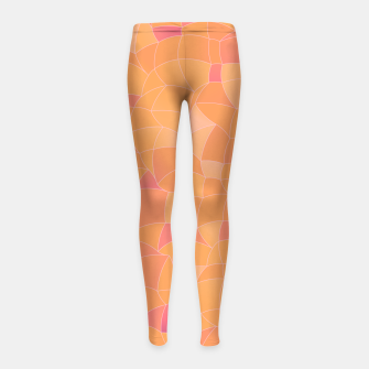 Imagen en miniatura de Geometric Shapes Fragments Pattern 2 cr2 Girl's leggings, Live Heroes