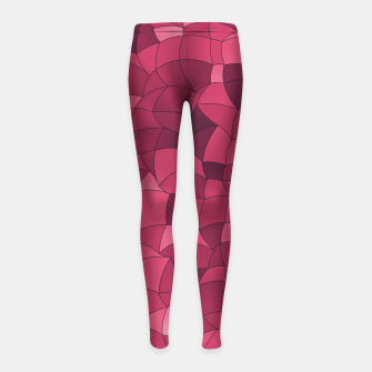 Imagen en miniatura de Geometric Shapes Fragments Pattern 2 ip2i Girl's leggings, Live Heroes