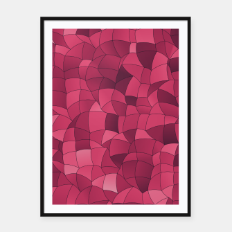 Imagen en miniatura de Geometric Shapes Fragments Pattern 2 ip2i Framed poster, Live Heroes