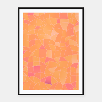 Imagen en miniatura de Geometric Shapes Fragments Pattern 2 cr2 Framed poster, Live Heroes