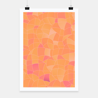 Miniatur Geometric Shapes Fragments Pattern 2 cr2 Poster, Live Heroes