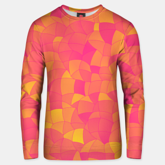 Miniatur Geometric Shapes Fragments Pattern 2 yp Unisex sweater, Live Heroes