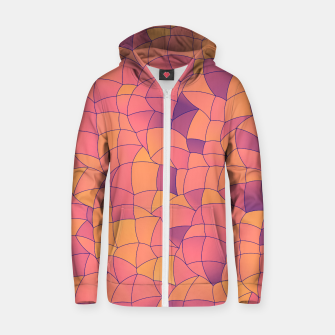 Thumbnail image of Geometric Shapes Fragments Pattern 2 cr2i Zip up hoodie, Live Heroes