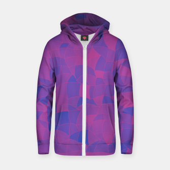 Thumbnail image of Geometric Shapes Fragments Pattern 2 pb3 Zip up hoodie, Live Heroes
