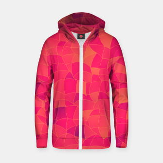 Thumbnail image of Geometric Shapes Fragments Pattern 2 ip3 Zip up hoodie, Live Heroes