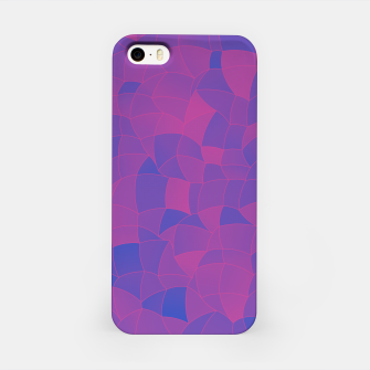 Thumbnail image of Geometric Shapes Fragments Pattern 2 pb3 iPhone Case, Live Heroes