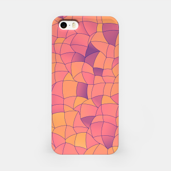 Thumbnail image of Geometric Shapes Fragments Pattern 2 cr2i iPhone Case, Live Heroes