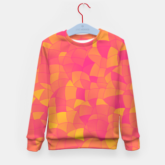 Thumbnail image of Geometric Shapes Fragments Pattern 2 yp Kid's sweater, Live Heroes