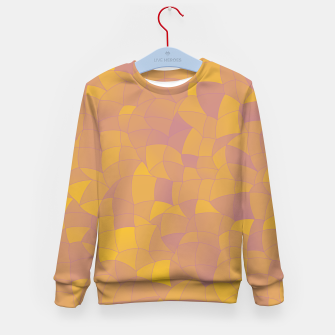 Thumbnail image of Geometric Shapes Fragments Pattern 2 pyp2 Kid's sweater, Live Heroes