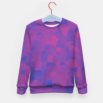 Thumbnail image of Geometric Shapes Fragments Pattern 2 pb3 Kid's sweater, Live Heroes