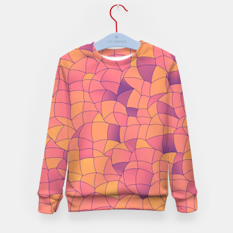 Thumbnail image of Geometric Shapes Fragments Pattern 2 cr2i Kid's sweater, Live Heroes
