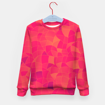Thumbnail image of Geometric Shapes Fragments Pattern 2 ip3 Kid's sweater, Live Heroes