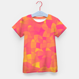 Thumbnail image of Geometric Shapes Fragments Pattern 2 yp Kid's t-shirt, Live Heroes